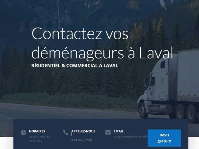 Déménagement immobilier Laval