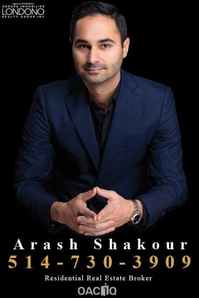 Arash Shakour – Group Immobilier Londono